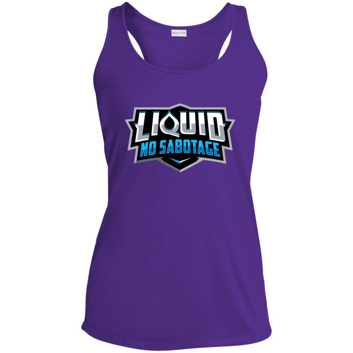 LST356 Ladies' Racerback Moisture Wicking Tank - Liquid Hydration Gear