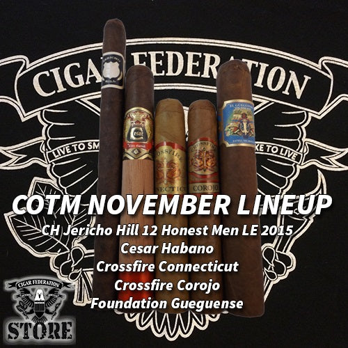 Cigar of the Month Club November 2015