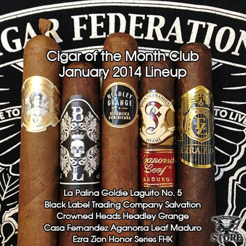 January Cigar of the Month Club