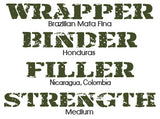 262 Paradigm Brazilian Mata Fina wrapper