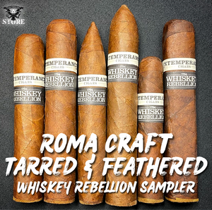 RoMa Craft TARRED & FEATHERED Whiskey Rebellion SAMPLER