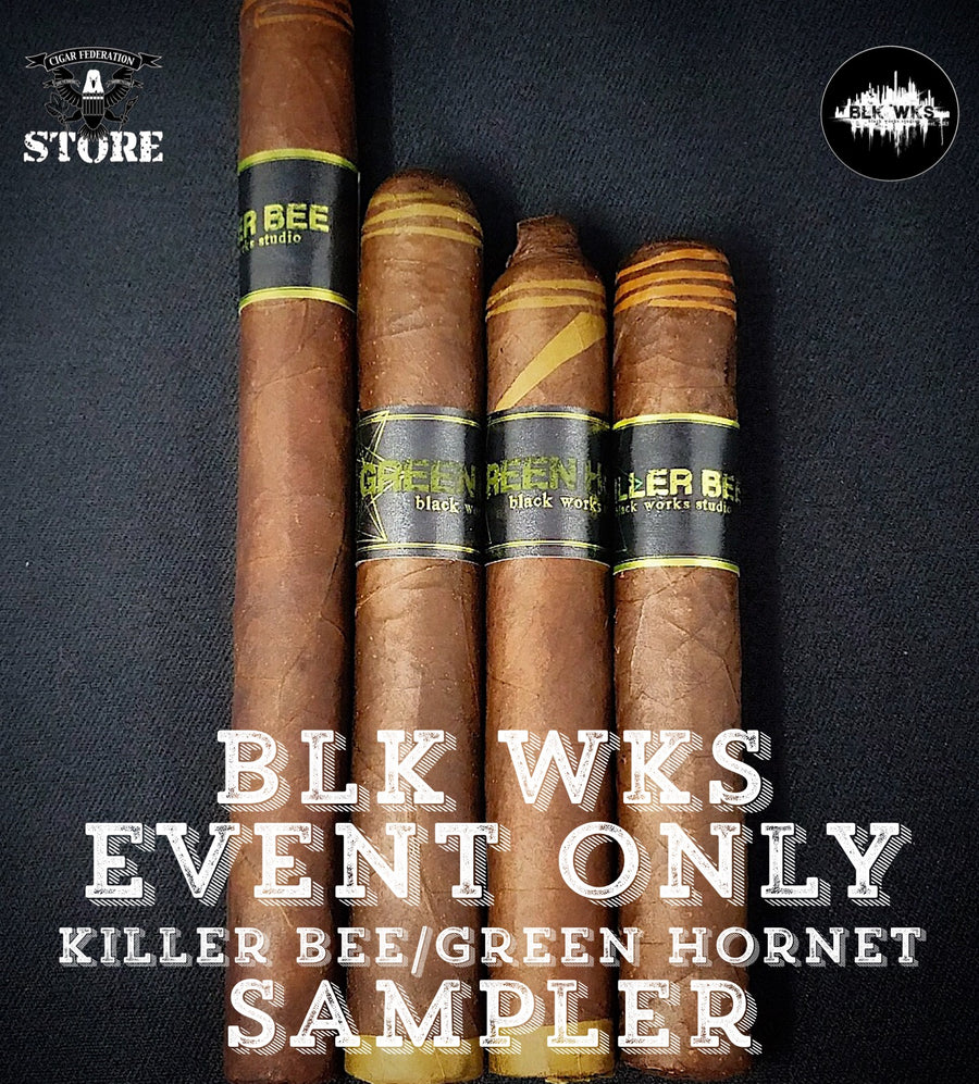 BLK WKS EVENT ONLY Killer Bee/Green Hornet Sampler