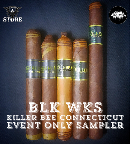 BLK WKS Killer Bee Connecticut EVENT ONLY Sampler