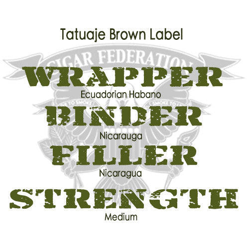 Tatuaje Brown Label WBFS