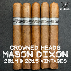 VINTAGE Crowned Heads Mason Dixon Project 2014 & 2015
