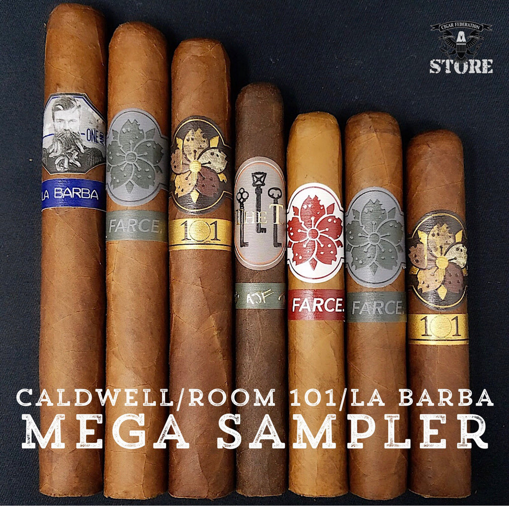 Caldwell/Room 101/La Barba MEGA Sampler