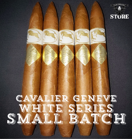 Cavalier Geneve White Series SMALL BATCH
