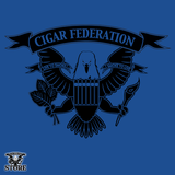 Cigar Federation Logo t-shirt blue