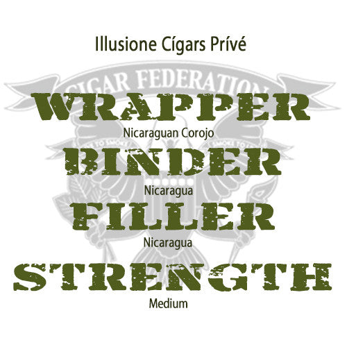 Illusione Cigars Prive Corojo WBFS