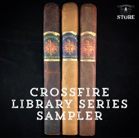 Crossfire Cigars Library Series Sampler