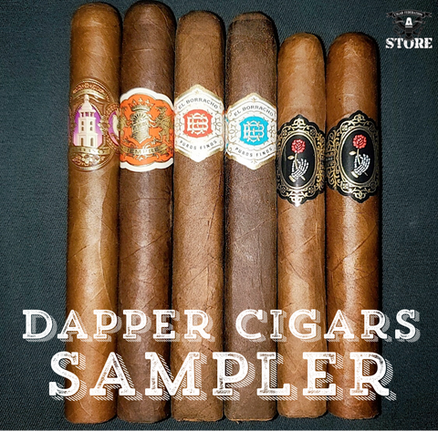 Dapper Cigars 6 CT. Sampler