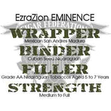 Ezra Zion Eminence Mexican San Andres Wrapper
