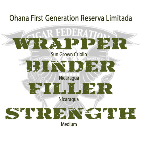 Ohana First Generation Reserva Limitada WBFS