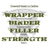 Crowned Heads Le Careme WBFS
