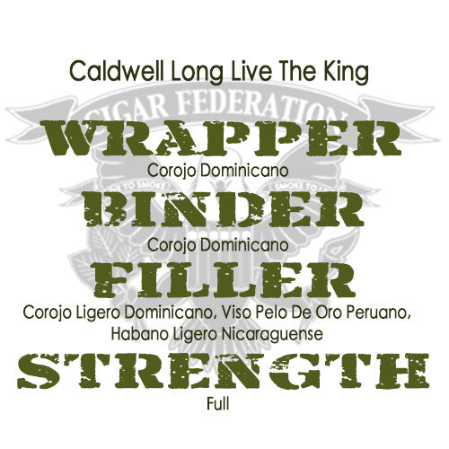 Caldwell Long Live The King WBFS