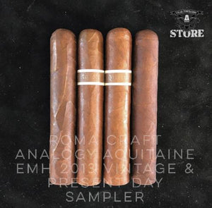 RoMa Craft Analogy Aquitaine EMH 2013 Vintage and Present Day Sampler
