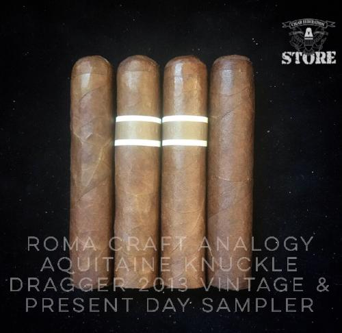 RoMa Craft Analogy Aquitaine Knuckle Dragger 2013 Vintage and Present Day Sampler