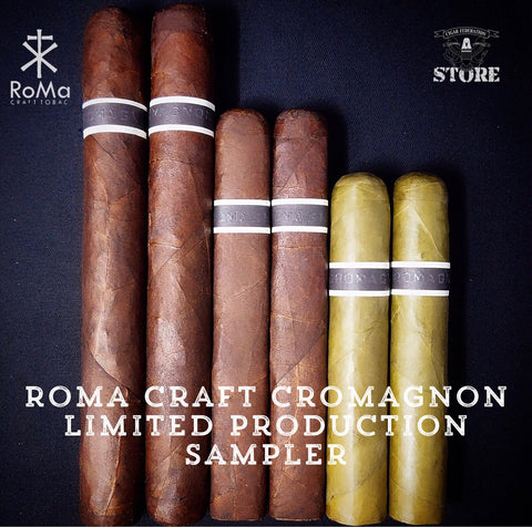 RoMa Craft CroMagnon Limited Production Sampler