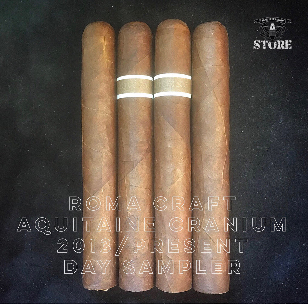 RoMa Craft Aquitaine Cranium 2013 Vintage and Present Day Sampler