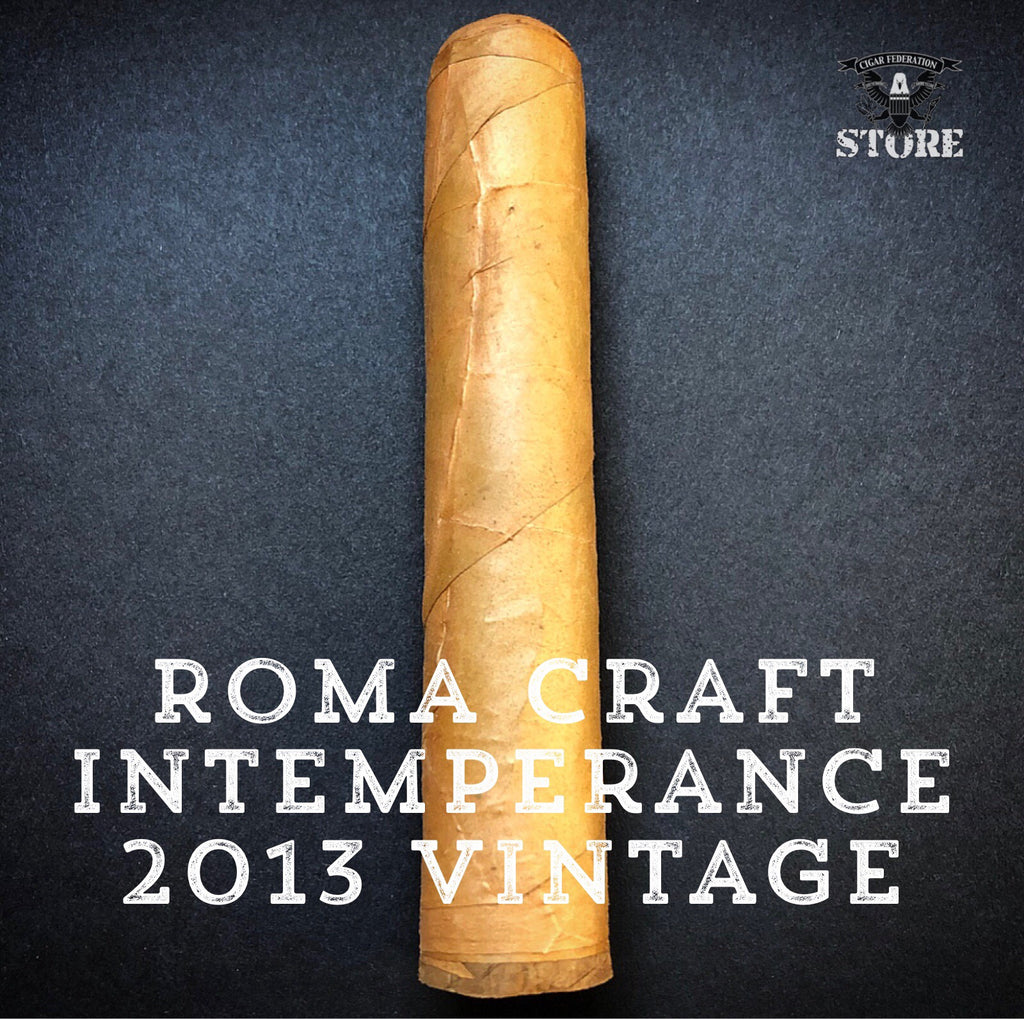 RoMa Craft Intemperance 2013 Vintage