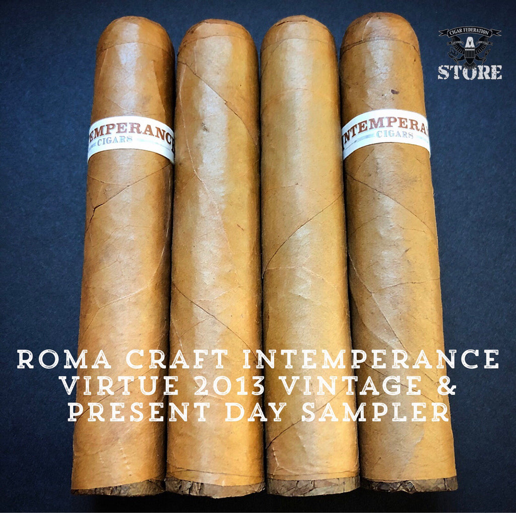 RoMa Craft Intemperance Virtue 2013 Vintage and Present Day Sampler