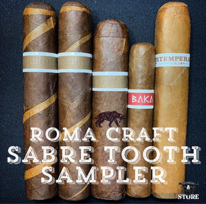 RoMa Craft Sabre Tooth Sampler