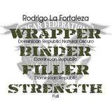 Rodrigo Cigars La Fortaleza Natural Oscuro Wrapper