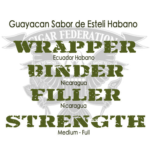 Guayacan Sabor de Esteli with Habano wrapper
