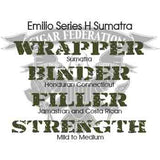 Emilio Series H Sumatra Wrapper