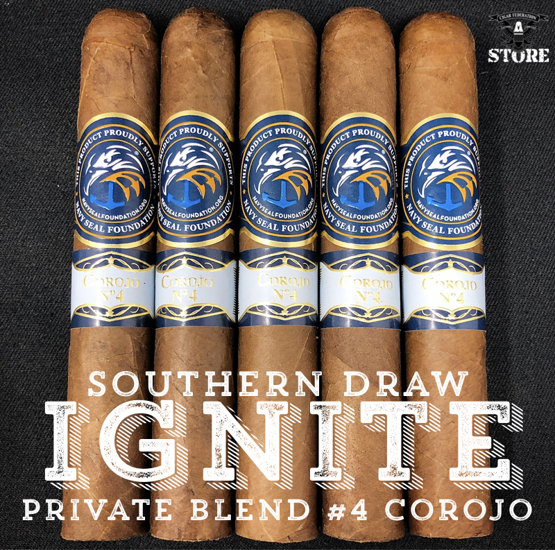 Southern Draw IGNITE Private Blend #4 Corojo JAR