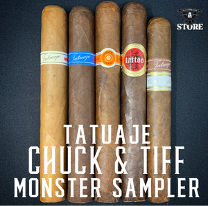 Tatuaje CHUCK & TIFF Monster Sampler