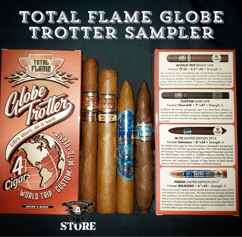 Total Flame Globe Trotter Sampler