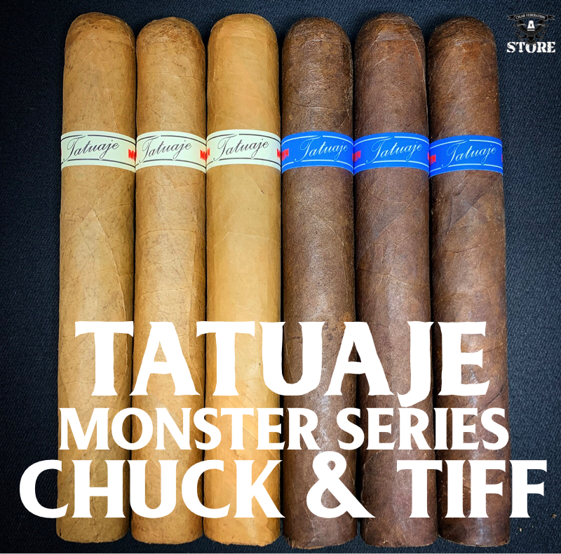 Tatuaje Monsters CHUCK & TIFF