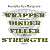Foundation Cigar Co. The Upsetters WBFS