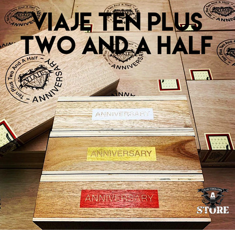 VIAJE Ten Plus Two and a Half Anniversary
