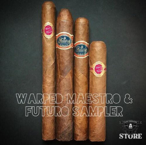 Warped Maestro and Futuro Sampler