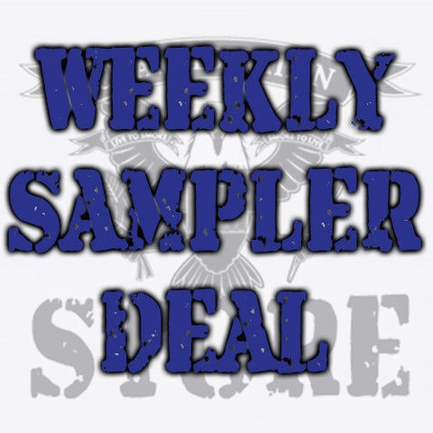 Weekly Mystery Sampler Deals