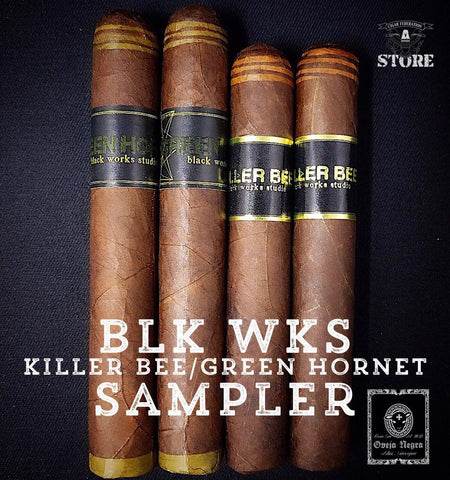 BLK WKS Studio Killer Bee/Green Hornet Sampler