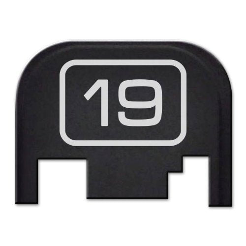 FIXXXER Model Series Rear Cover Plate for Glock (19) Fits Most Models (Not G42, G43) and Generations (Not Gen 5)