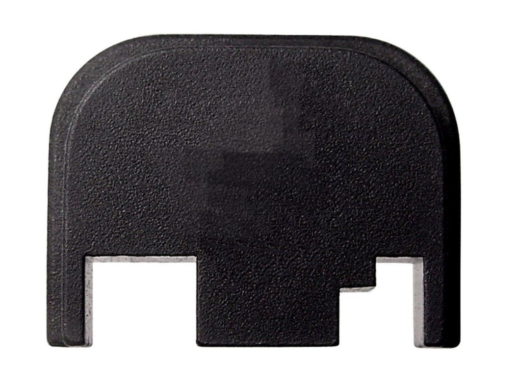 Rear Cover Plate for Glock, fits most Glock models, Blank