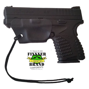 Custom F.I.X. Holster (conceal carry) Fits Springfield XDs .45ACP & 9MM