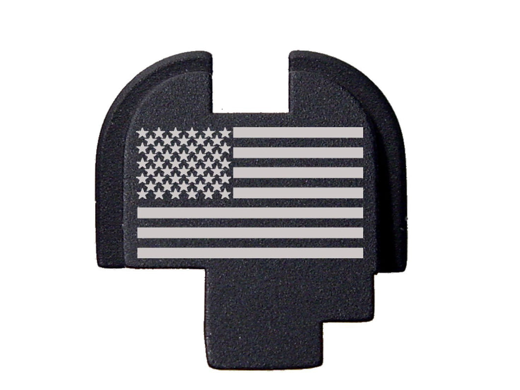 Stars & Stripes Design Rear Cover Plate for Springfield XDs