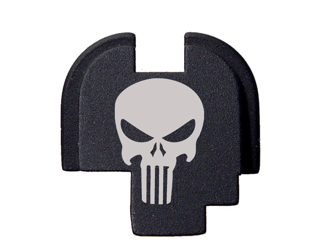 Tactical Skull Design Rear Cover Plate for Springfield XDs