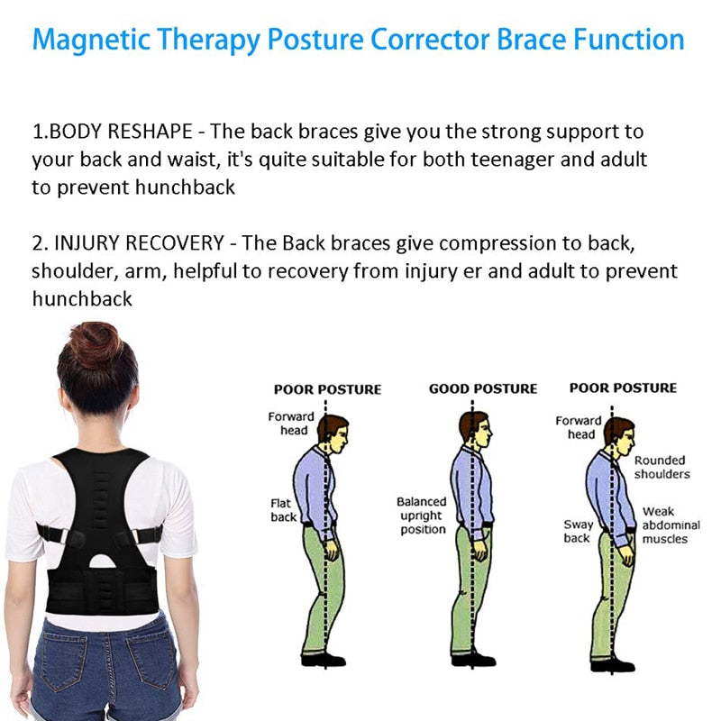 Body Revolution™ Posture Corrector Series 2 - Therapy Back Brace For Men And Woman