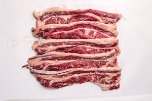 Uncured Beef Bacon from Short Ribs