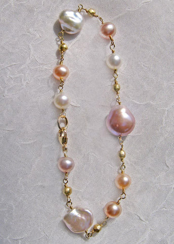 Educated Rapt Pastel Pearl Bracelet