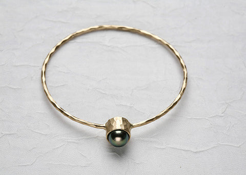Tahitian Pearl Bangle(18k)