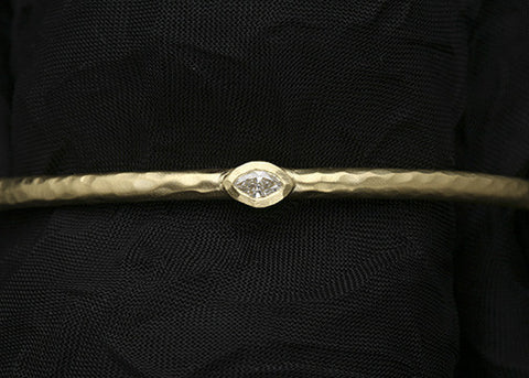 Tara DiamondCountess Bangle(.15ctw)(18k)