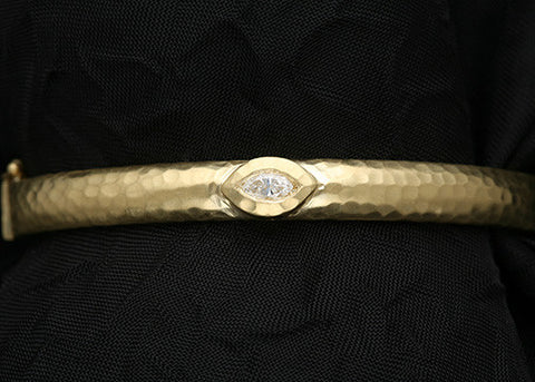 Ella CountessDiamond Bangle(.25ctw)(18k)