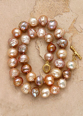 Rare Kasumiga Pearl Necklace(18k) - sold